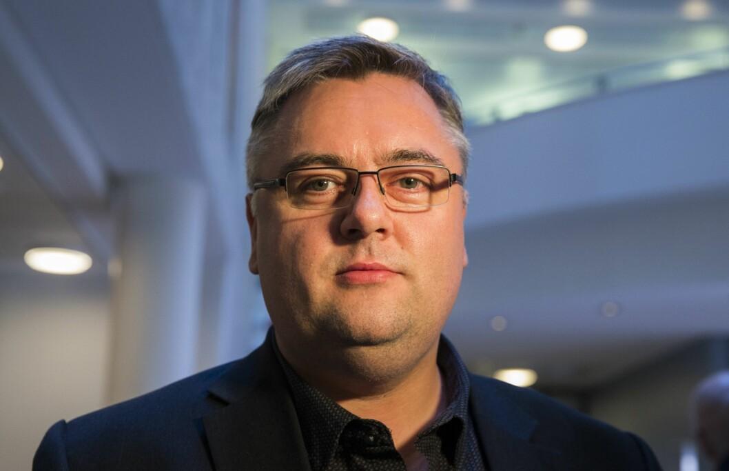 Redaktør Kjetil Stormark i AldriMer.no er bekymret for fremtiden til nettavisen.