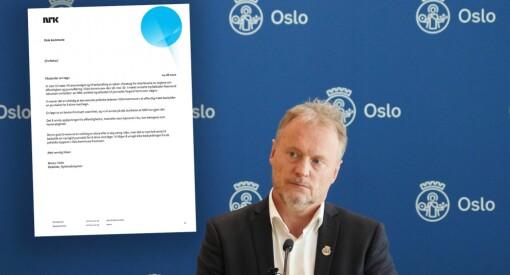 NRK klager på byrådsleder Raymond Johansen etter påstander om løgn