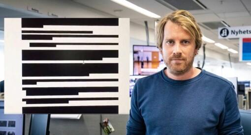 24 av 25 sider ble sladdet da Aftenposten ba om innsyn: – Grenser til det parodiske