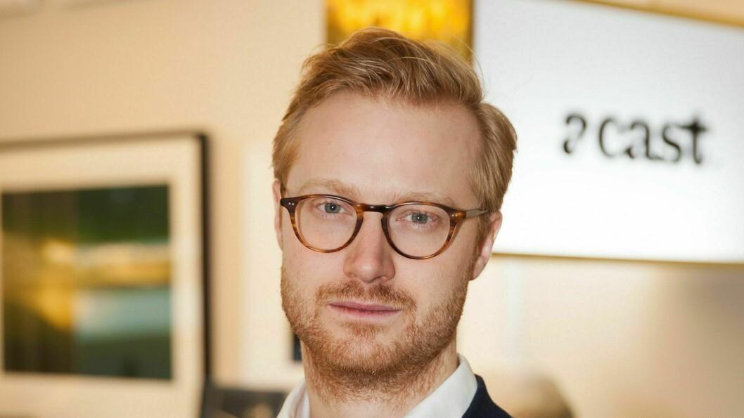 Sjef for Acast i norden, Fredrik Hermansson.