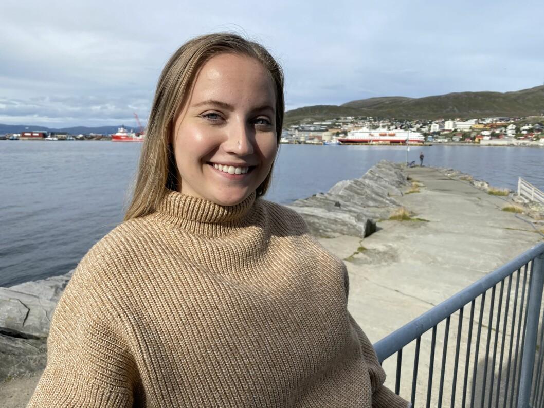 Solveig Eriksen fra Klepp på Jæren er ansatt som journalist for iFinnmark i Hammerfest.