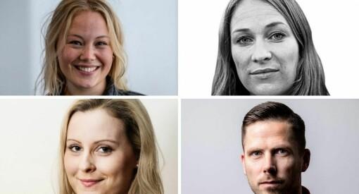 Liv (39), Guro (31), Hanne Louise (34) og Helge (41) er nye redaksjonsledere i BT