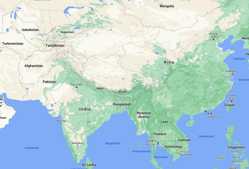 India forbyr mer enn 100 nye kinesiske apper