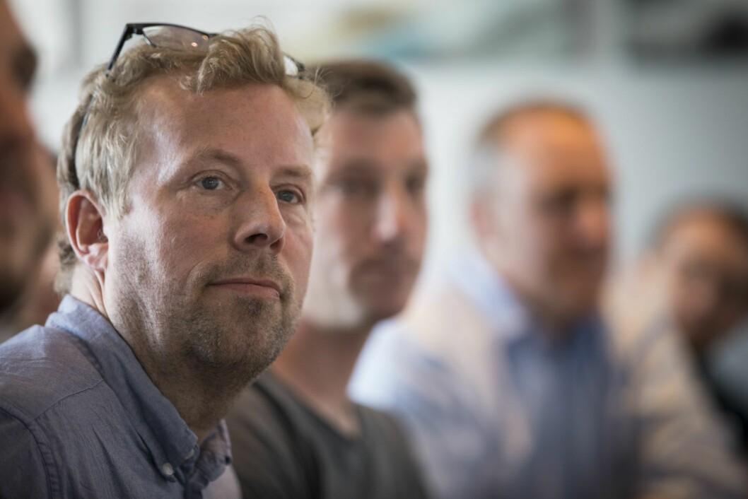 Produktsjef Erik Saastad gleder seg over den nye ordningen for podkast.