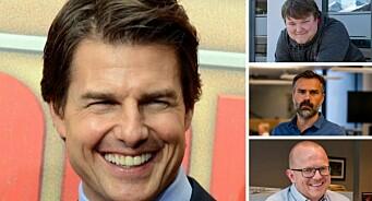 Tom Cruise skaper klikkfest for avisene på Sunnmøre: – Stor interesse