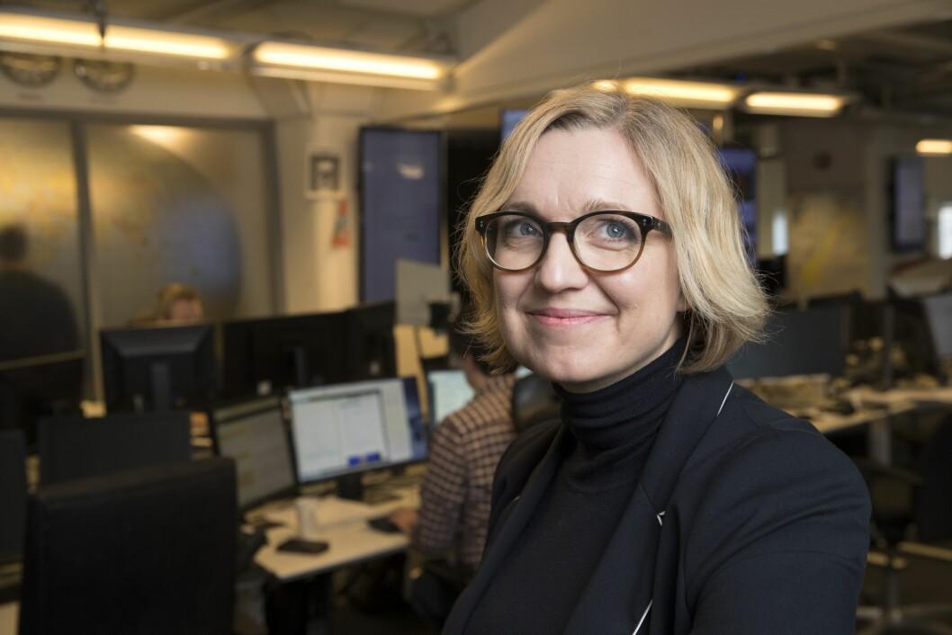 Nyhetsredaktør i NTB, Sarah Sørheim.