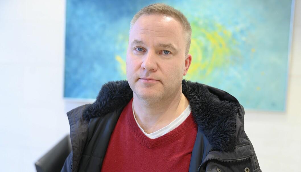 Helge Lurås, redaktør i nettstedet Resett.