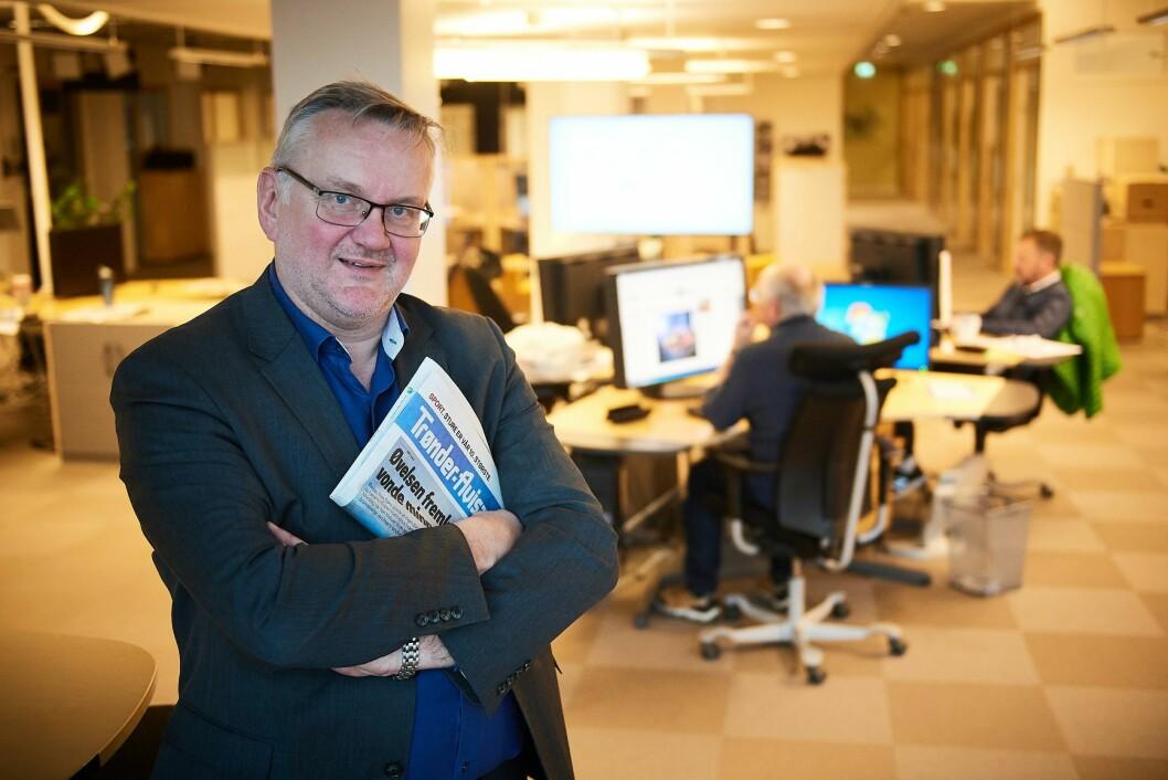 John Arne Moen og Trønder-Avisa etablerer ny nettavis i Levanger.