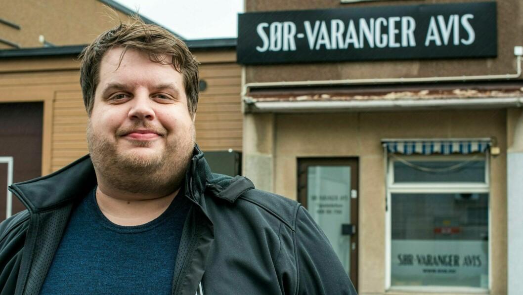 Ole Tommy Pedersen gir seg som redaktør i Sør-Varanger Avis.