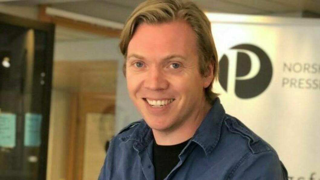 Sindre Granly Meldalen er ansatt i et vikariat hos Norsk Presseforbund.