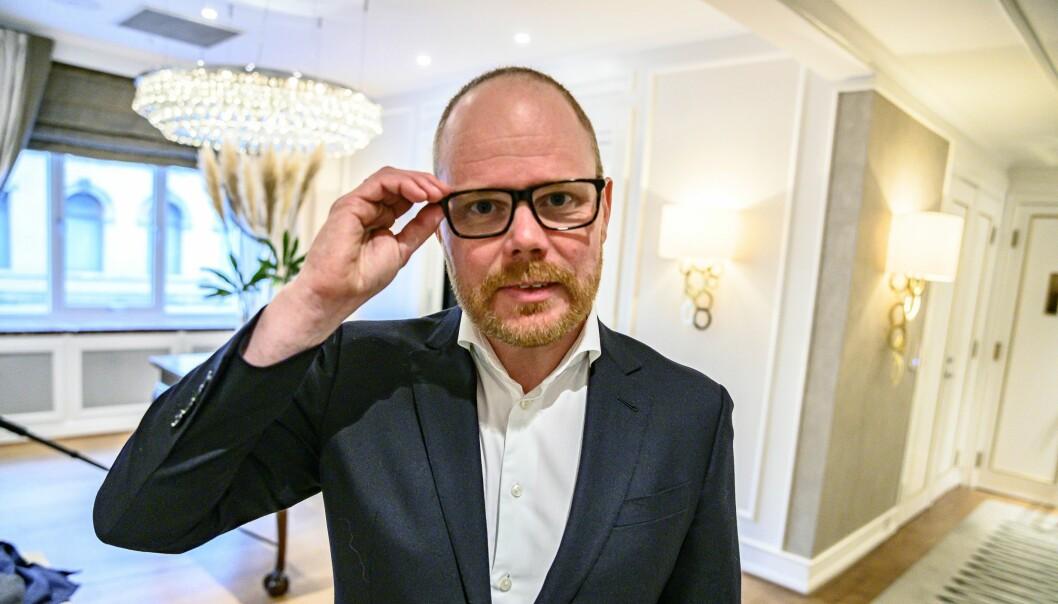 Administrerende direktør og ansvarlig redaktør i VG, Gard Steiro, sier at nedgangen på årsresultatet var som forventet.