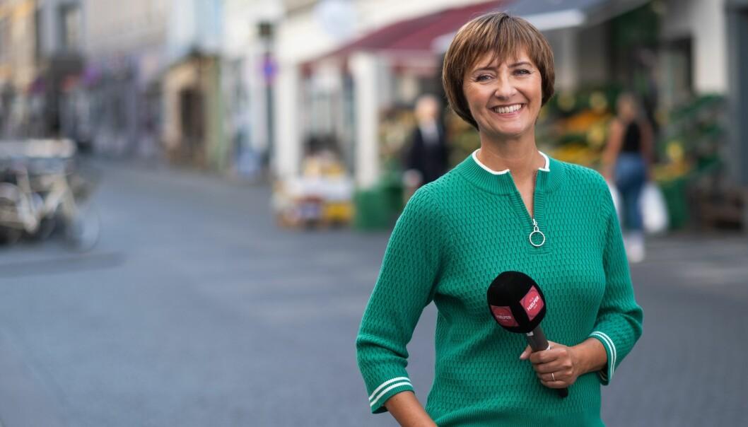 TV 2 har inngått et forlik med Gjeldfinans etter et innslag på «TV 2 hjelper deg». Her representert ved programleder Solveig Barstad.