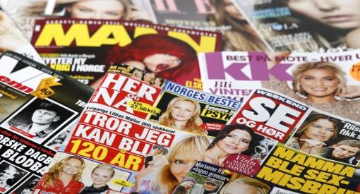 Færre leser magasiner under koronapandemien: – Mindre deling mellom privatpersoner