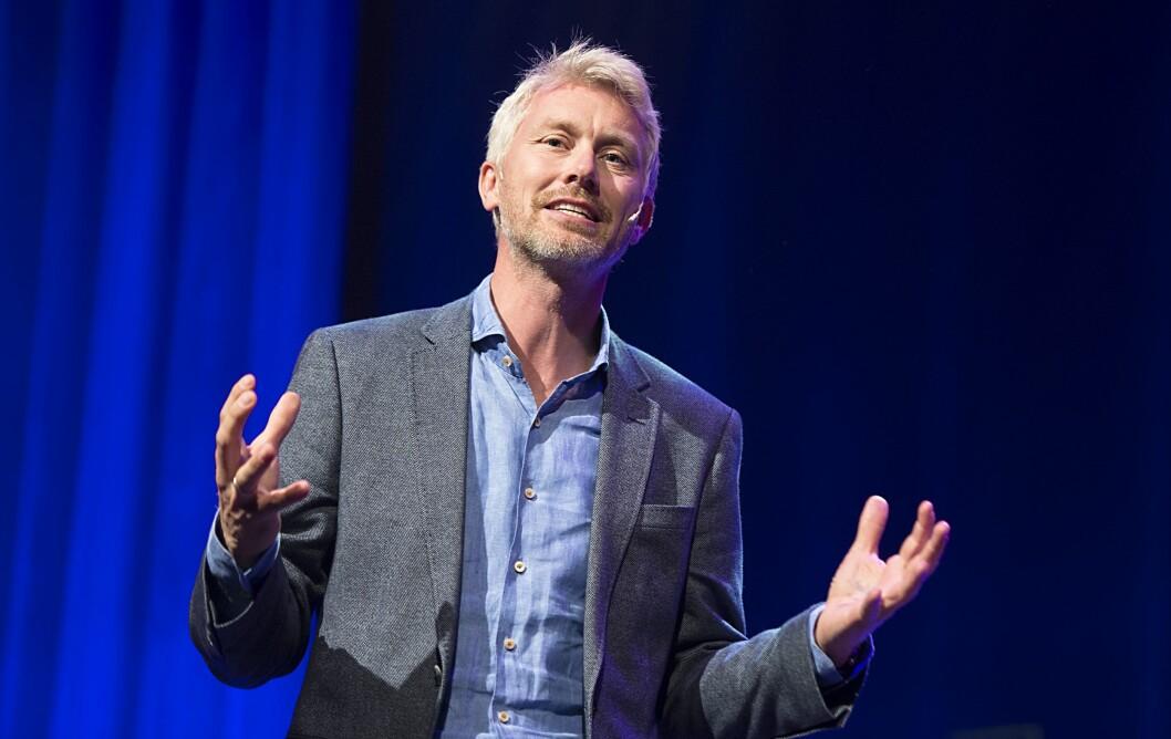 TV 2-sjef Olav T. Sandnes gleder seg over den nye rettighetsavtalen.