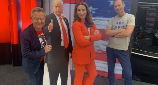Slik blir USA-valget på TV 2: – Vi vil ha en sterk tilstedeværelse