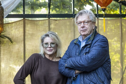 Anne-Kat. Hærland og Pål T. Jørgensen skal legge ut på en reise i Trumps Norge.