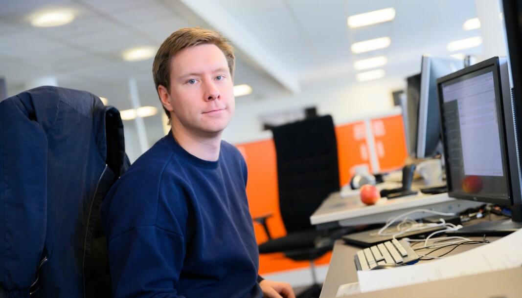 Konstituert sjefredaktør i Avisa Nordland, Markus Rask Jensen.