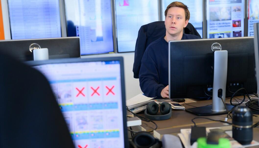 Markus Rask Jensen, sjefredaktør i Avisa Nordland.