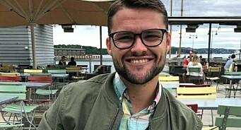 Midt i nedbemanningen fikk Fredrik (26) fast jobb i ABC Nyheter: – Det var litt spesielt