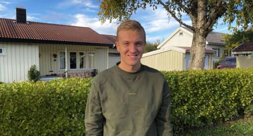 Ett år før studieslutt har Johannes (23) fått fast jobb i Adresseavisen: – Stolt