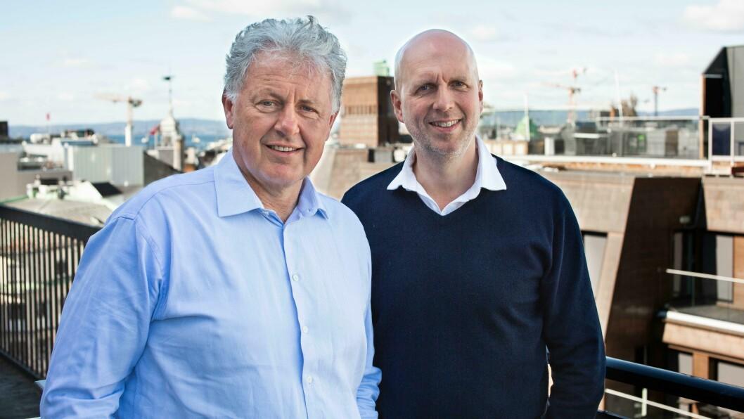 Nettavisen har for tiden stor suksess med podkasten Stavrum & Eikeland, med Gunnar Stavrum og Ole Eikeland.