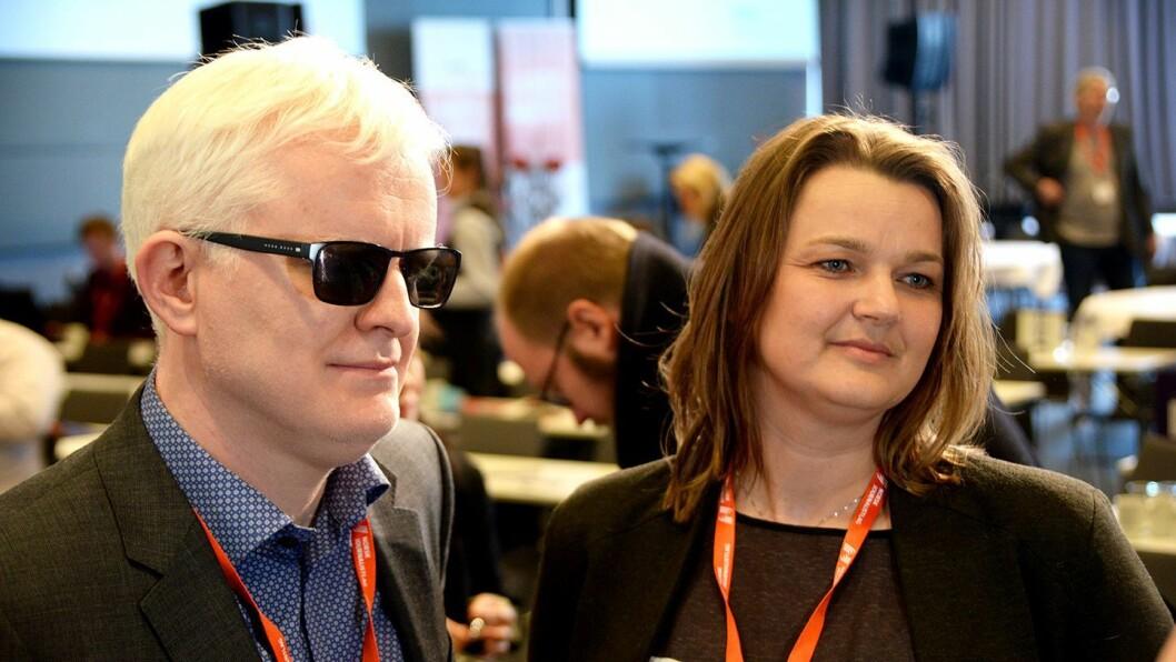 Nestleder Dag Idar Tryggestad åpner for å ta over stillingen som leder for Norsk Journalistlag når Hege Iren Frantzen gir seg i mars.