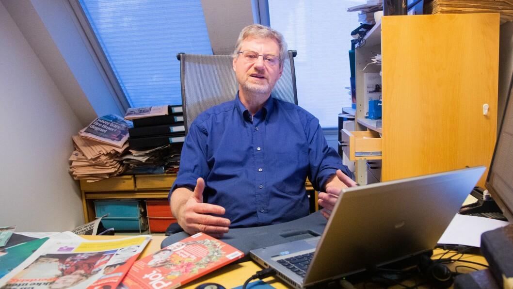 Administrerende direktør og ansvarlig redaktør i Dagens Perspektiv, Magne Lerø, kan ikke forstå at Medietilsynet gav avslag på søknaden om Mediestøtte.