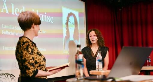 Camilla Stoltenberg roser medienes koronadekning: – Skikkelig imponert