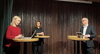 Kristin Skogen Lund i debatt med Gard Steiro: – Det endte med en veldig uklok uttalelse