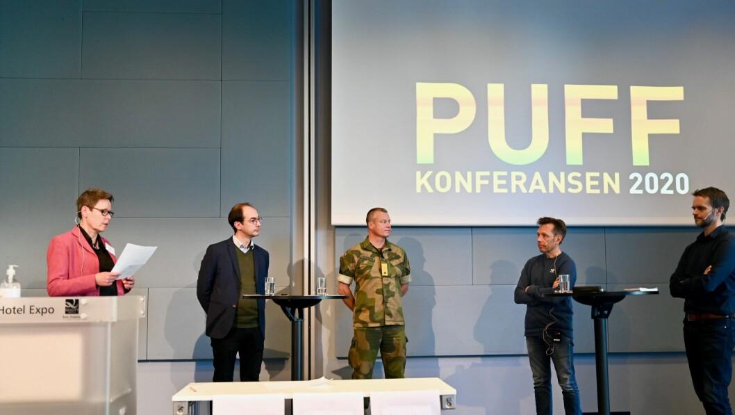 Skillet mellom utgiver og fagblad sto i fokus under en paneldebatt på Fagpressens PUFF-konferanse torsdag ettermiddag.