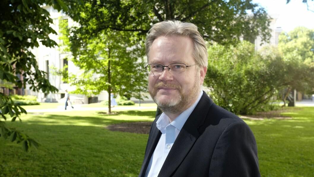 Jan Arild Snoen byttet denne helgen profilbildet sitt på Twitter til et bilde av den islamske profeten Muhammed.