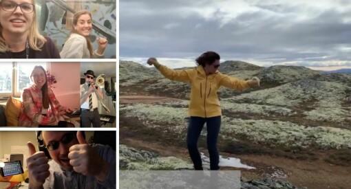 Se Kristin Skogen Lund og de Schibsted-ansatte danse i musikkvideo