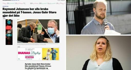 Kritikken hagler mot nettavisene etter Støre-oppslag: – Det blir et moralhysteri