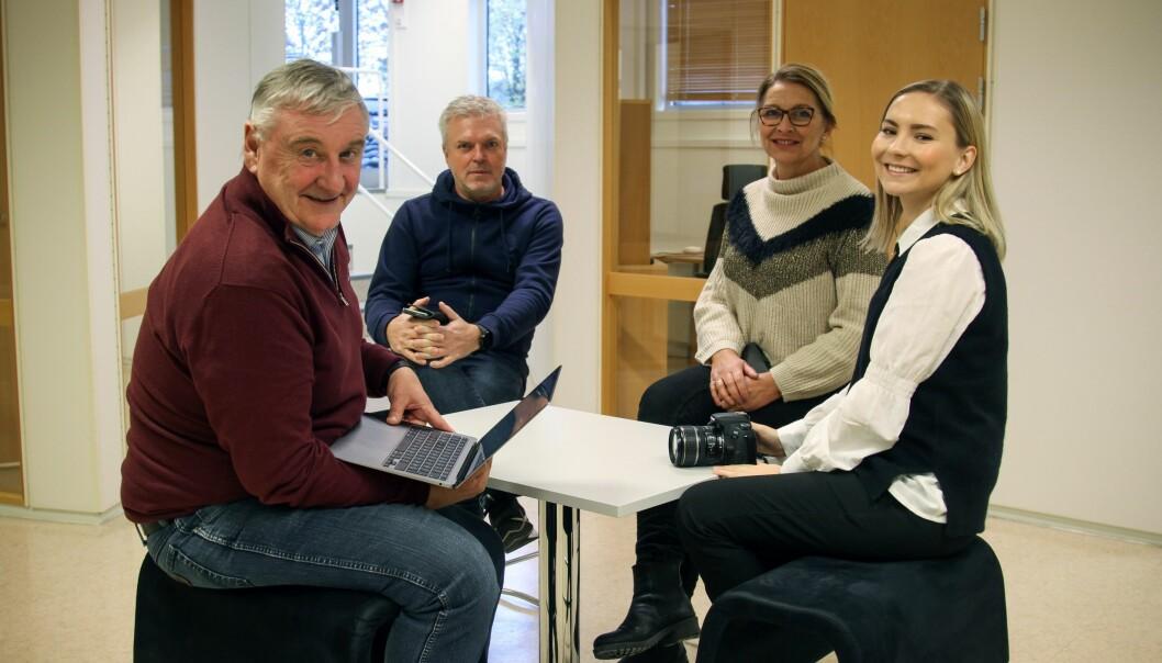 Benedicte Bratås (t.h) er konstituert som redaksjonssjef i Mitt Kongsvinger.