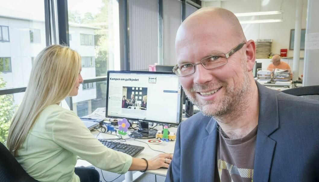 Glåmdalen-redaktør Thor Sørum-Johansen