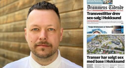 Mener avisens transvestitt-tittel er «uprofesjonell»: – Underlig at en redaktør lar dette passere