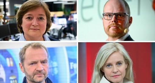 Erna Solberg utfordret mediehusene på bruk av «juicy opplysninger». Slik svarer redaktørene