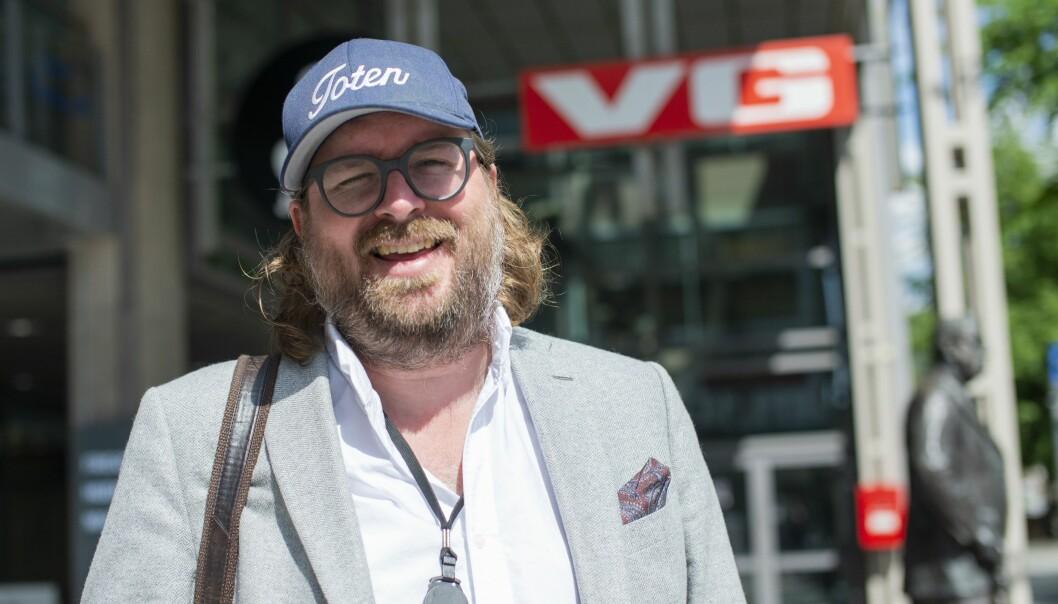 VG-vaktsjef Ken Andre Ottesen står bak den populære Instagram-kontoen BAdesken.
