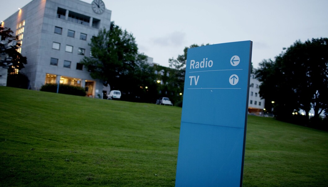 NRK på Marienlyst i Oslo.