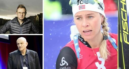 Skiskytter raser mot aviskommentatorer: – Jeg syns det er helt sykt
