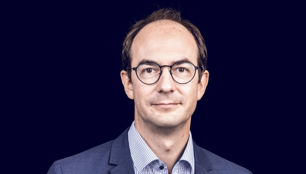 Ansvarlig redaktør Stian Eisenträger i Forsvarets forum
