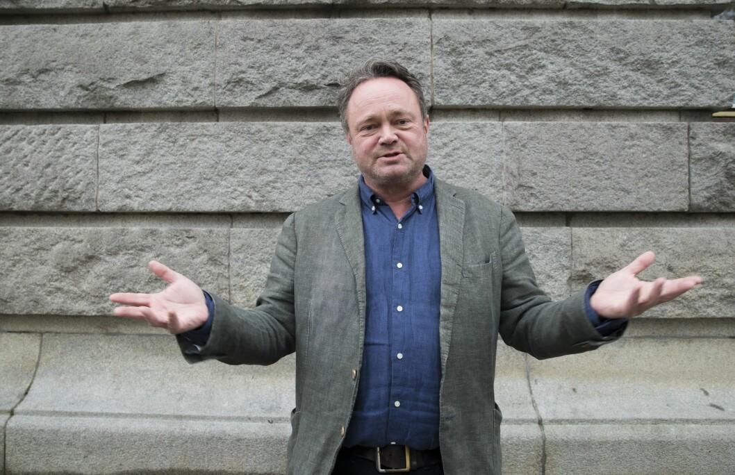 Journalist Fredrik Græsvik har nå åpnet opp igjen sin Twitter-konto.
