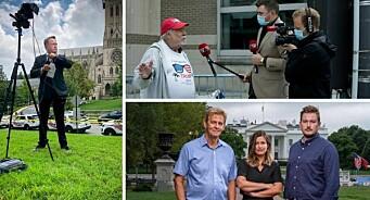 Slik dekker mediene den amerikanske valgkampen: 26 timer direktesending og en haug med korrespondenter