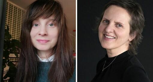 Birgit Opheim (55) og Alice Tegle (34) er fast ansatt som journalister i Dagen