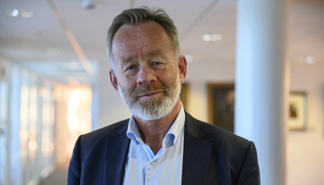 Amund Djuve har vært DNs sjefredaktør siden 1999.