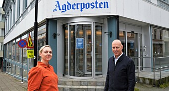 Katrine Lia (43) skriver lokal avishistorie - blir første kvinnelige sjefredaktør i Agderposten