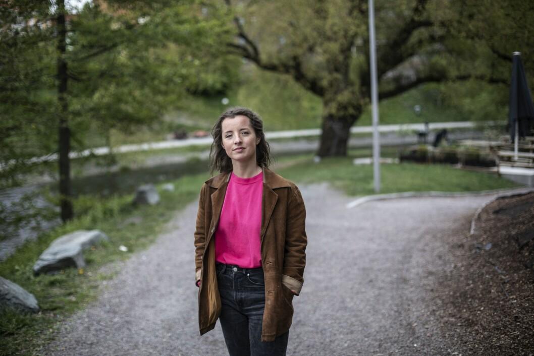 Redaktør i Universitas, Pernille Solheim, er glad for at studentavisen opplever en positiv utvikling på nett.