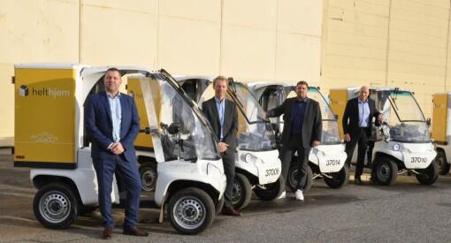Amedia får grønnere distribusjon av aviser - kjøper 300 el-biler