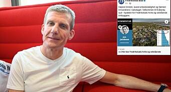 Fredriksstad Blad kritisert i sosiale medier etter overskrift: – De baserer vellykkethet på farge