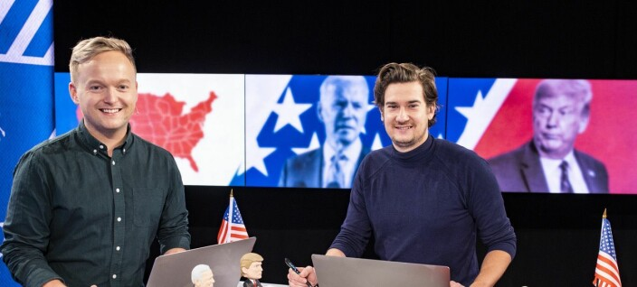 VGTV nådde ungt med live-sendingene om USA-valget: Halvparten var under 35 år